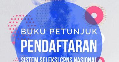 BUKU PETUNJUK PENDAFTARAN CPNS 2019