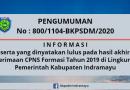 Informasi Penting Untuk CPNS Formasi 2019 yang Dinyatakan Lulus